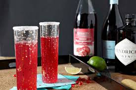pomegranate french 75 the speckled palate