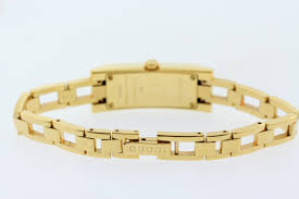 gold tone stainless steel bracelet images Ladies gucci ya110503 110 series gold tone stainless steel jpg