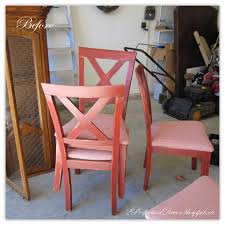 chair leather red painted dining chairs for room design painting