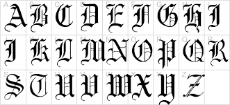 english gothic 17th c regular 3d fonts brush fonts curly