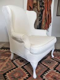 Wing Back Chair Slip Covers 18 Best Wingback Slipcover Inspiration Images On Pinterest