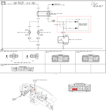 mazda protege5 light wiring diagram mazda b2200 gauge cluster