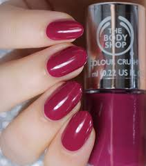 deeply in love the body shop colour crush nails collection
