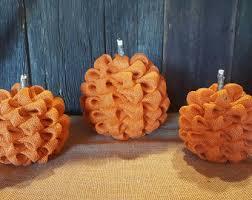 Halloween Decorations Pumpkins Rustic Fall Decor Etsy