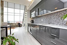 best of gloss grey kitchen cabinets taste