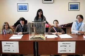 tenue bureau de vote le télégramme sainte hélène bureau de vote les jeunes élus au