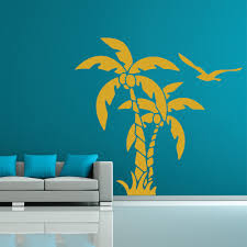 palm trees and coconuts tropical flowers and trees wall stickers palm trees and coconuts tropical flowers and trees wall stickers home art decals