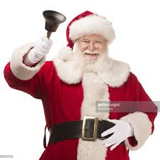 pictures of real santa claus with bell stock photo getty images
