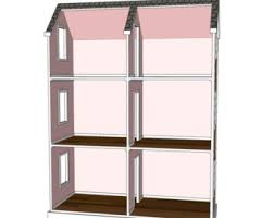 18 Doll House Plans Free by Doll House Plans For American Or 18 Inch Dolls 5 Room