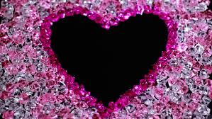 3d animation pink text on a white background animated heart