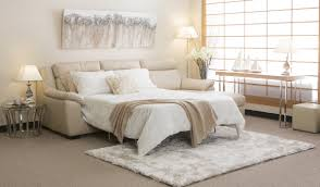 most comfortable sofa beds in neutral color scheme for apartment