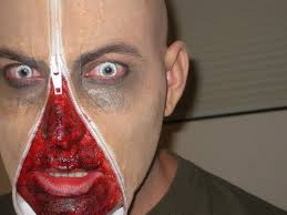 zipper face zombie halloween costume ideas camoeyes