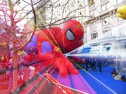 spiderman thanksgiving november 2013 new york city in the wit of an eye