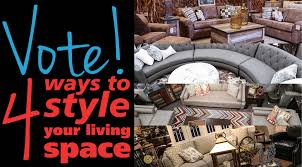 Living Room Sets Des Moines Ia Vote Four Ways To Style Your Living Space Hm Etc
