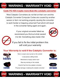 lexus warranty on catalytic converter universal 2 25 high flow catalytic converter with o2 port 67 99