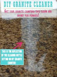 Caring For Granite Kitchen Countertops Diy Granite Cleaner Granite Cleaner Granite And Rubbing Alcohol