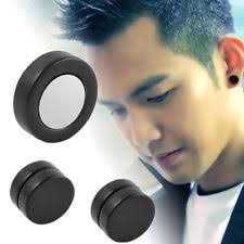 ear stud men unbranded rhinestone earrings studs for men ebay
