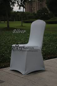 Cheap Spandex Chair Covers For Sale Aliexpress Com Buy Silver Color Spandex Chair Cover For Banquet