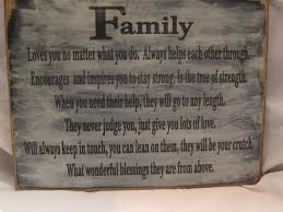 true meaning of family poem like success