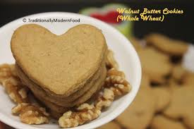 eggless walnut butter cookies whole wheat