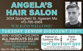 senior hair cut discounts angela s hair salon agawam massachusetts hair salon facebook