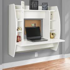 Desk Organizer Shelves Best Choice Products Wall Mount Floating Computer Desk With