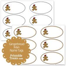 printable gingerbread man gift tags gingerbread man name tags printable treats com