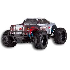 rc monster truck video volcano epx pro 1 10 scale electric brushless monster truck