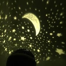 Schlafzimmer Lampe Romantisch Eizur 360 Rotierende Beamerlampe Led Projektor Lampe