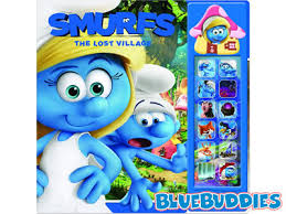 smurf books smurfs lost village play sound