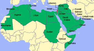 arab map map of arab world countries major tourist attractions maps