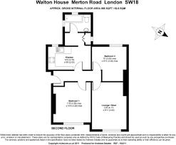 Walton House Floor Plan 2 Bedroom Flat For Sale In Walton House 131 Merton Road Sw18