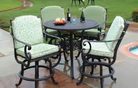 Bar Height Patio Furniture by Cast Aluminum Bar Height Patio Furniture Patiosusa Bar Height