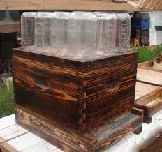 How To Make A Toy Chest Out Of Pallets by How To Easily Make A Beehive In A Jar Diy Project