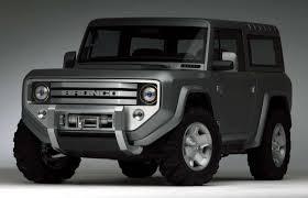 ford bronco 2017 ford bronco 4x4 confirmed for 2020 ranger based