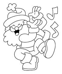 kids 7 santa claus coloring pages