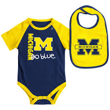 Notre Dame Infant Clothes University Of Michigan Baby Clothes Babyfans Com Baby Stuff