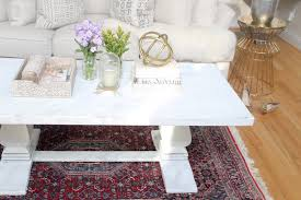 Shabby Chic Tablecloth by How To Distress A Shabby Chic Coffee Table The Easy Way