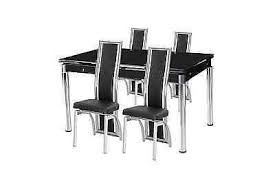 high top dining table for 4 extending dining table and 4 6 8 chairs tempered black glass top