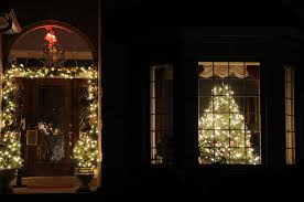 Christmas Window Decorations Indoor by Stylish Ideas Window Christmas Lights 40 Indoor Light Decoration