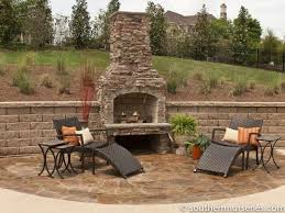 Outdoor Fireplaces And Firepits Outdoor Fireplaces Hardscapes Southern Nurseries