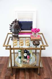 Glam Coffee Table by 3 Ways To Style A Super Chic Bar Cart