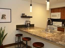 kitchen 3 dark kitchen island breakfast bar with black stools