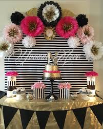 50th birthday party supplies colors black and gold themed birthday party together with black