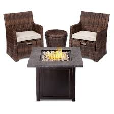 Target Com Outdoor Furniture by Halsted 5 Piece Wicker Small Space Patio Furniture Set Threshold