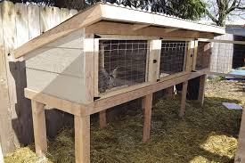 Plans For Building A Rabbit Hutch Outdoor Build A Rabbit Hutch And Tractor
