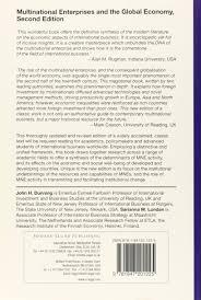 Universities As Multinational Enterprises The Multinational Multinational Enterprises And The Global Economy Amazon Co Uk