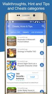 android cheats cheats hints tips for android apps on play