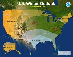 map us south noaa another warm winter likely for western u s south may see