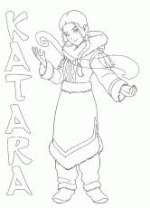 avatar airbender coloring printable 163736